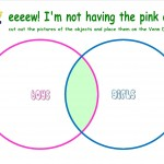 Eww! I'm not having the pink one! Venn